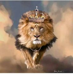 Lion of Judah. In Christian tradition, the Lion of Judah represents the triumphant Jesus.