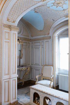 Chateau De Maintenon, British Country, Castle, Walls, France, Interiors, Architecture, House, Furniture