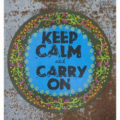 Keep Calm Car Magnet