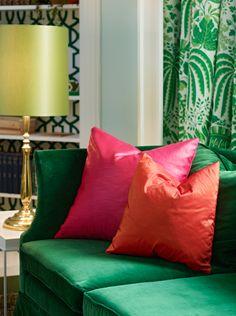 En liten sniktitt på juniorsuiten Fargerike har pusset opp på Grand Hotel Oslo i Årets Farge 2012