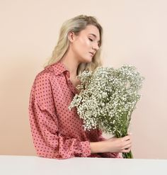 Spring emotions #spring #poema #poemaro #blouse #pinkblouse #flowers #emotions Spring, Casual, Flowers, Poem, Royal Icing Flowers, Flower, Florals, Floral, Blossoms