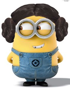 Carrie Fisher Minion - Princess Leia in Star Wars