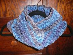 Chenille Infinity Cowl Scarf by JollieSweets on Etsy, $25.00
