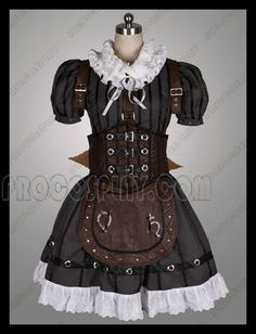 Best Alice: Madness Returns Alice Steamdress Cosplay Costumes From China