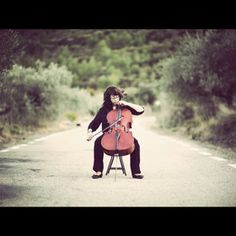 cello - need to do a photo shoot like this for Camille. Would be even cooler with her beautiful blonde curls!