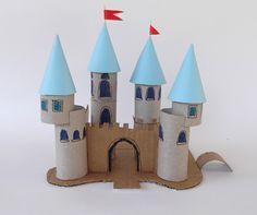 brinquedos-rolos-de-papel-castelo