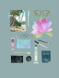 Babeth Lafon, ilustrando la feminidad | La Bici Azul: Blog de decoración, tendencias, DIY, recetas y arte