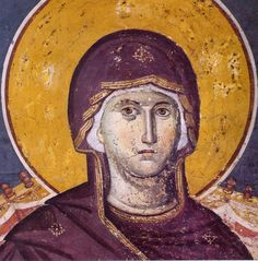 Manuil Panselinos, the famous and mysterious iconic master Byzantine Art, Byzantine Icons, Religious Icons, Religious Art, Madonna, Greek Icons, Religion Catolica, Russian Icons, Best Icons