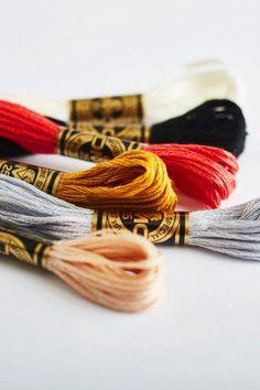 Iris Embroidery Cross Stitch 6 Strand Cotton Thread Floss 36 Pastel Skeins