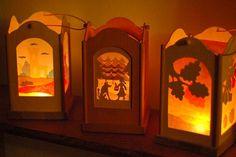 Love these kinderkram lanterns on http://waldorfmama.typepad.com/