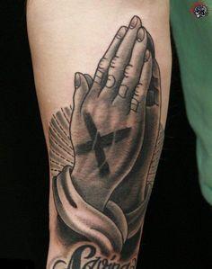 Praying #hand #tattoo