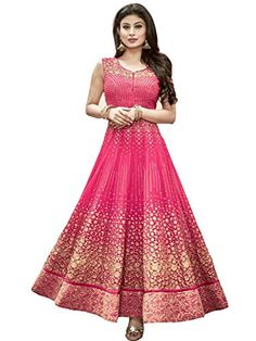 This Filmlion Anarkali Suits Is Specially Designed For Wedding, Casual, Party Were For Womens\' And Girls.Latest Anarkali Suits From Filmlion, Beautiful Anarkali Suits With Embroidered Work Semi-Stitched Anarkali Suits. Top Fabric: Georgette, Bottom Fabric : Santoon, Dupatta Fabric : Nazneen.