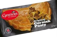 'ORIGINAL CORNISH PASTY' | Ginsters of Cornwall: Package re-design with 'British Best' label     ✫ღ⊰n