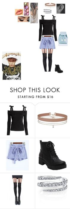 """""""JB"""" by mrsminana95 on Polyvore featuring H&M, Miss Selfridge, Pretty Polly and Sugarbaby"""