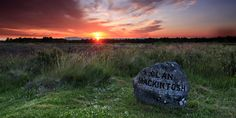 The headstone of Clan Mackintosh at Culloden Battlefield near Inverness. Go to Scotland to research your family history.