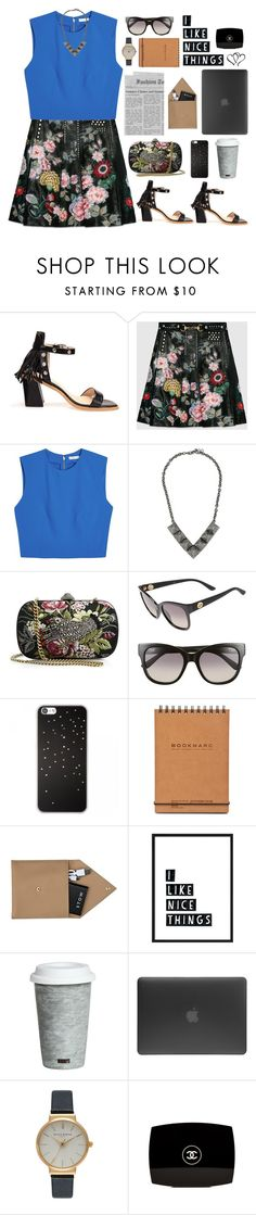 """""""i like nice things :)"""" by emc1397 ❤ liked on Polyvore featuring Gucci, Alice + Olivia, Valentino, STOW, Fitz and Floyd, Incase, Olivia Burton, Chanel, Leather and sandals"""