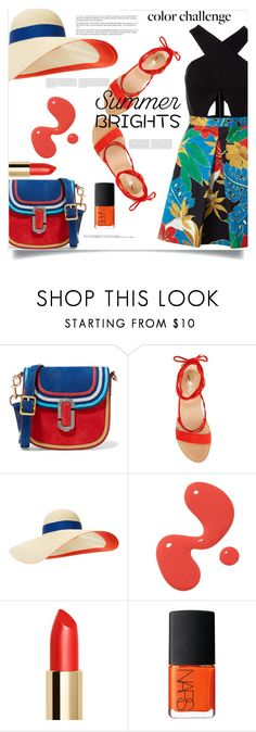 """""""Summer brights"""" by fantasticbabe ❤ liked on Polyvore featuring Marc Jacobs, Vince Camuto, Eugenia Kim, Oris, Hedi Slimane, NARS Cosmetics and Alice + Olivia"""
