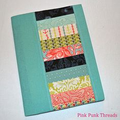 Tula Pink Neptune and Linen Fabric Covered Journal Fabric by PinkPunkThreads, $21.00
