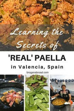 Join me in my discovery of what the true Valencia paella is through a cooking workshop that I took in #Valencia, Spain, the birthplace of the real #paella.