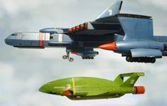 Zero X and Thunderbird 2... http://www.davidsissonmodels.co.uk/thunderbirds/zx13.jpg