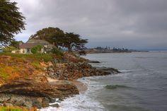 House by the sea in Santa Cruz, CA.