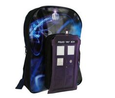 what to give a geek: TARDIS backpack