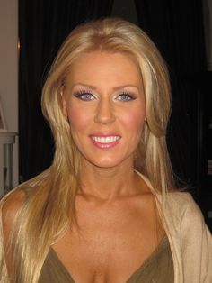 gretchen rossi makeup | Flawless Faces: Some makeup in the studio this past week.....
