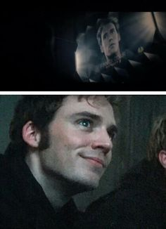 Finnick's face when he finds out he is wanted by the Capitol is priceless!