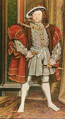 Henry VIII: 1537 by Hans Holbein the Younger (Walker Art Gallery, Liverpool) - Renaissance . and yes Hans Holbein the Younger was born in Augsburg. Anne Boleyn, Anne Of Cleves, Marie Tudor, Dinastia Tudor, Tudor Rose, Jane Seymour, Tudor History, British History, Asian History