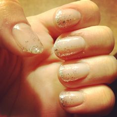 #nails #glitter #sparkle nail art!
