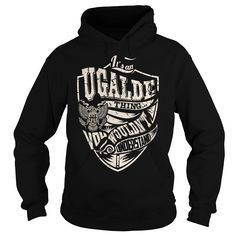 Its an UGALDE Thing (Eagle) - Last Name, Surname T-Shirt