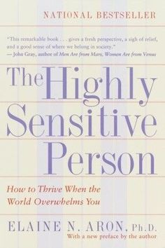 What is a Highly Sensitive Person? (HSP) How can I find out if I am HSP? What does HSP have to do with anxiety? If you have questions about HSP, discover the answer in this comprehensive book that explains the concept of the highly sensitive person. Psychology Books, Positive Psychology, Psychology Memes, Good Books, Books To Read, My Books, Reading Books, Book Of Love, Infp