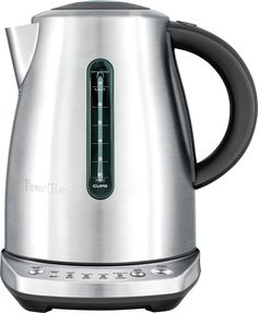 Breville - Temp Select Kettle - Brushed Stainless Steel, BKE720BSS