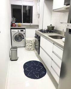 - Home Theater Kitchen Room Design, Kitchen Interior, Kitchen Decor, Laundry Room Design, Dirty Kitchen, Narrow Kitchen, Laundry Room Inspiration, Home Decor Inspiration, Washing Machine In Kitchen