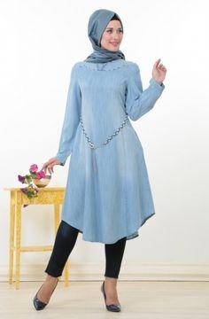 Jean Tesettür Giyim Şıklığı #tesettür #giyim #kadın #moda