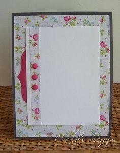 Sew Pretty Paper Collection, SU, Memory Box, McGill, Carla's Scraps
