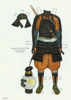 Japanese Warrior Costumes Paper Dolls (Ming-Ju Sun) - Nena bonecas de papel - Picasa webbalbum