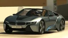 We did not expect to see footage of BMW's latest hybrid concept car, the i8 Spyder, so fast after its official unveiling, but this seems to be our (and your) lucky day.