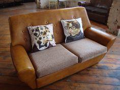 Edmond and Darlene dog and cat cushions