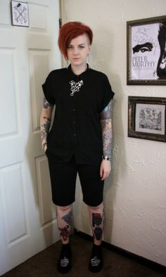 Coffin Kitsch: A Favorite Shirt, New Shoes