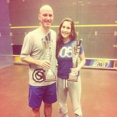 Nele with her Belgian National Title with Stefan Casteleyn