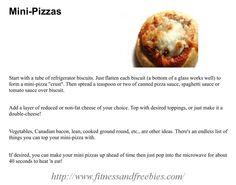 Mini Pizza's #recipe