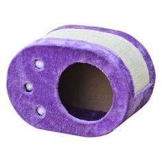 Pet Pals Paw Shaped Cat Scratch Box with Sisal in Purple ** Quickly view this special cat product, click the image : Cat scratcher