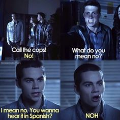Does anybody else miss Stiles' sarcastic comments to Jackson...
