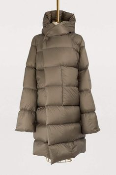 Buy Rick Owens Long down jacket online on 24 Sèvres. Shop the latest trends - Express delivery & free returns Long Parka Coats, Rick Owens Women, Jackets Online, Contemporary Fashion, Work Casual, Must Haves, Latest Trends, Femininity, Winter Jackets