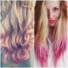 Cotril, tendencia cabello, puntas rosas, coloración Cotril, Azabache Estilistas