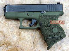 Glock 27 Pistol in OD green