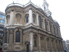 St. Mary-le-Strand by James Gibbs (1714 - 1717)