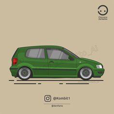 KombiT1: Volkswagen Polo @denfarto