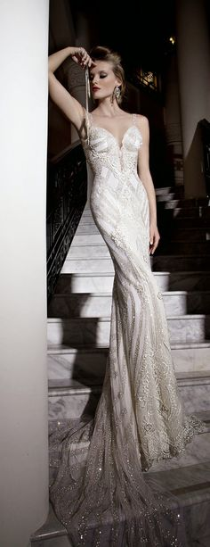 Galia Lahav : Tales of the Jazz Age Bridal Collection  - Front